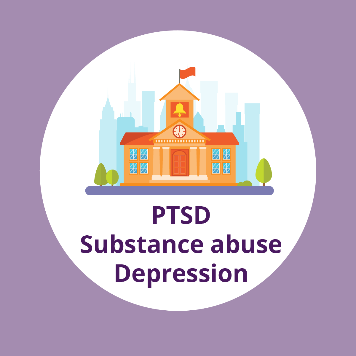 PTSD, substance abuse and depression